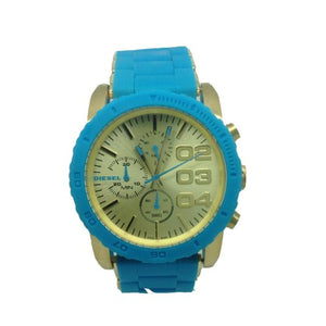 DIESEL 'Franchise' Chronograph Silicone Bracelet Watch, 42mm