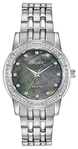 Citizen Women's EM0770-52Y Silhouette Crystal Eco-Drive Watch