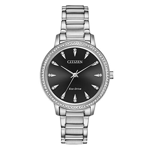 Citizen Women's FE7040-53E Silhouette Crystal Eco-Drive Watch