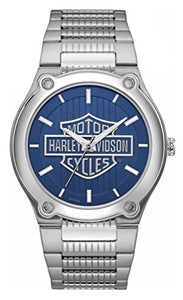 Bulova Men's 76A159 Harley Davidson Japanese-Quartz Blue Watch