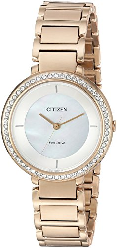 Citizen Women's EM0483-54D Mother-of-Pearl Watch