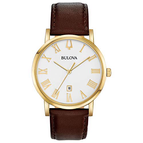 Bulova Men's 97B183 Japanese-Quartz White Watch