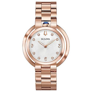 Bulova Women's 97P130 Japanese-Quartz Mother-of-Pearl Watch
