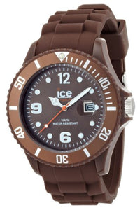Ice-Watch Men's Chocolate Milk CT.MC.B.S.10 Brown Silicone Quartz Watch with Brown Dial