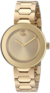 Movado Women's Swiss Quartz Tone and Gold Plated Automatic Watch(Model: 3600382)
