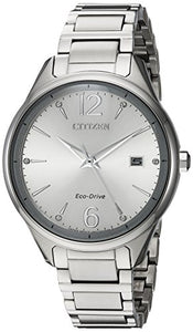 Citizen Women's FE6100-59A Eco-Drive Analog Display Japanese Quartz Silver Watch