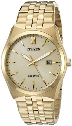 Citizen Men's Corso BM7332-53P Wrist Watches, Gold Dial