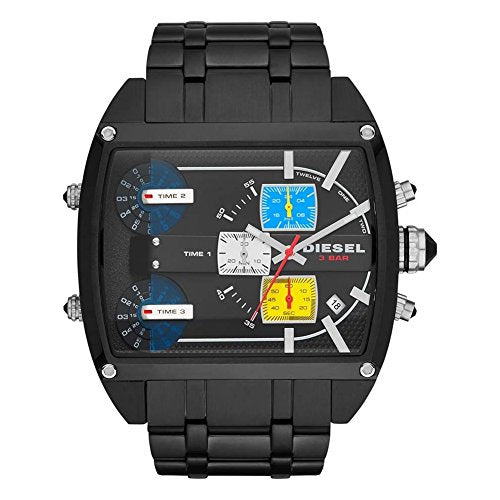 Diesel DZ7325 Mens Mothership Chronograph Black IP Watch
