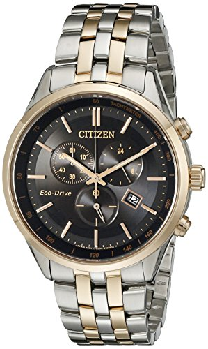 Citizen Men's Sapphire Collection AT2146-59E Wrist Watches, Black Dial