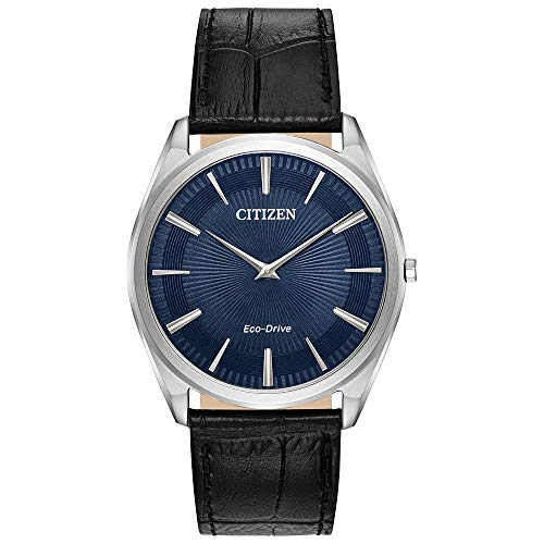 Citizen Men's AR3070-04L Stiletto Japanese-Quartz Blue Watch