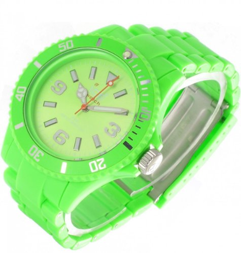 Ice-Watch Unisex Watch Medium Classic Solid Gr N Cs.Gn.U.P.10
