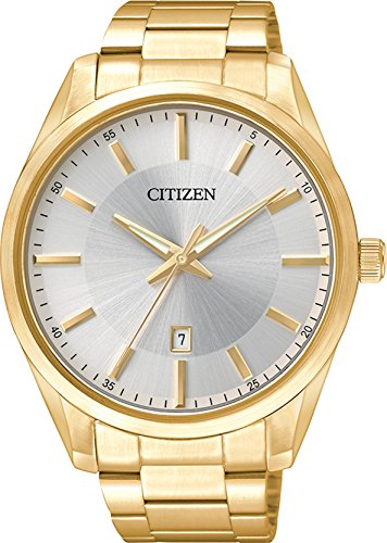 Citizen Men's BI1032-58A Wrist Watches, Silver Dial