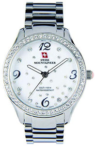 Swiss Mountaineer Women's Stainless Steel Watch SM1511