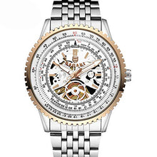 Load image into Gallery viewer, Davitu BAGARI 1680 Full Steel Business Style Quartz Wrist Watch - (Color: Rose Gold)