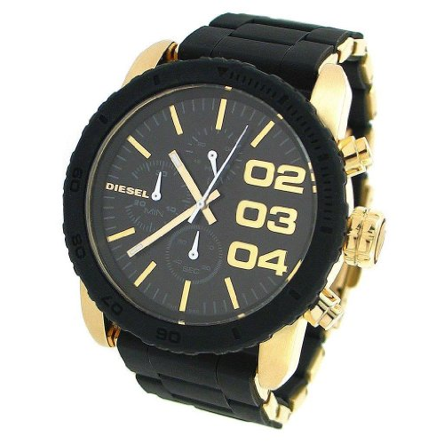 Diesel Men's DZ5322 Two-Tone Stainless-Steel Quartz Watch with Black Dial