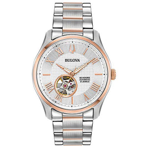 Bulova Mens Automatic Watch (Model: 98A213)