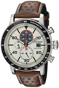 Citizen Men's CA0649-06X Eco-Drive Analog Display Japanese Quartz Brown Watch