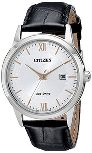 Citizen Men's AW1236-03A Straps Analog Display Japanese Quartz Black Watch