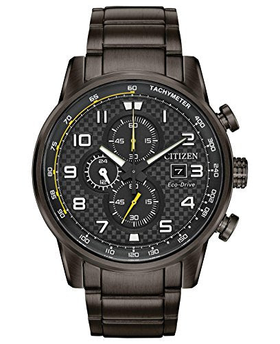 Citizen CA0687-58E Chronograph Eco-Drive Primo Grey Stainless Steel Men's Watch
