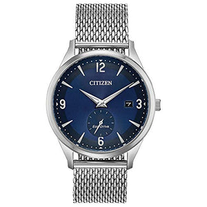 Citizen Men's BV1110-51L BTW (by The Way) Japanese-Quartz Blue Watch
