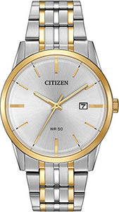 Citizen Men's BI5004-51A Wrist Watches, Silver Dial