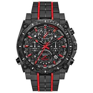 Bulova Men's 98B313 Precisionist Black Watch