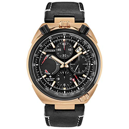 Citizen AV0073-08E Men's Promaster Tsuno Black Dial Chrono Watch