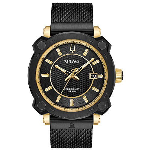 Bulova Men's 98B303 Grammy Awards Special Edition Precisionist Black Watch