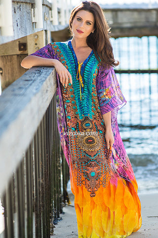 Capri Long Kaftan