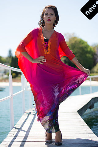 MAASAI  Long Kaftan