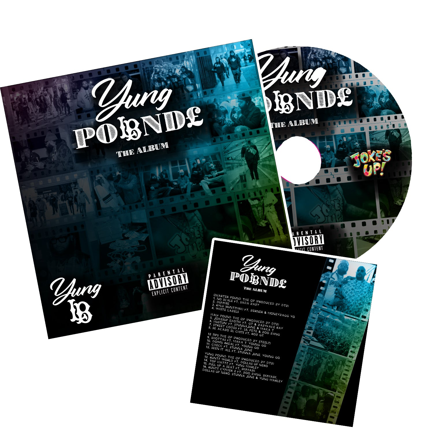 "YUNG LB ""POUND"" the ALBUM"