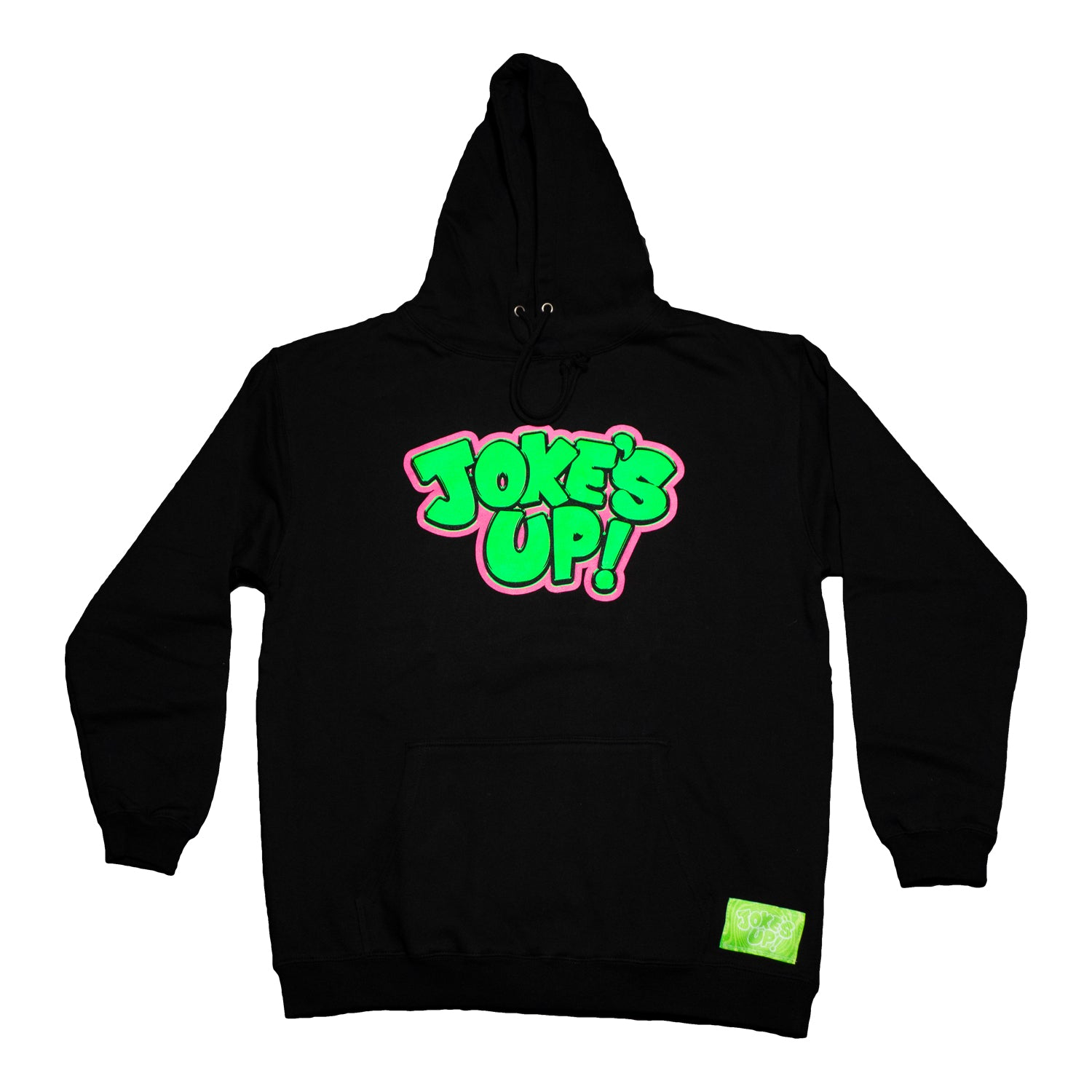 Jokes Up Logo Hoodie (Black)