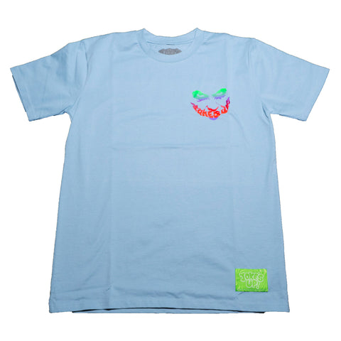 So Serious Tee (Pale Blue)