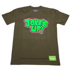 Jokes Up Logo Tee (Army Green)