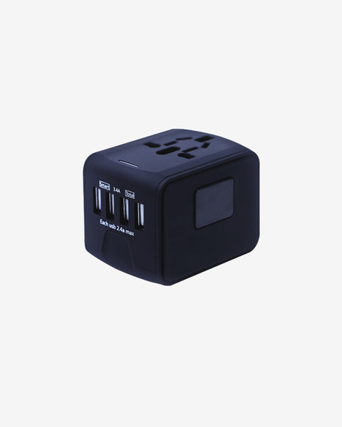 built-in 4 USB ports