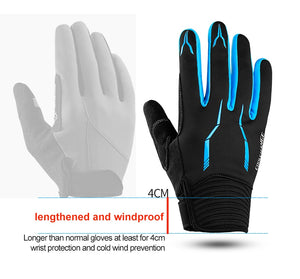 CoolChange Winter Cycling Motorcycle  Gloves with Touch Screen Gloves For Men and Woman