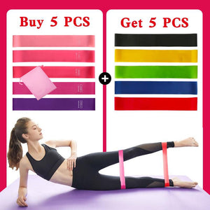 5 PCS/Set Fitness Rubber Bands