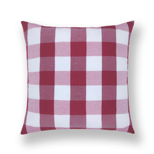 Checkered Plaid Throw Pillow Covers Decorative Christmas Cushion Covers Cotton Linen Pillow Case Home Decor