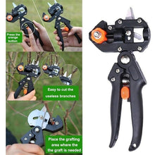 Load image into Gallery viewer, Grafting Pruner Garden Grafting Tool Professional Branch Cutter Secateur Pruning Plant Shears Boxes Fruit Tree Grafting Scissor