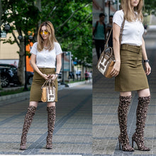 Load image into Gallery viewer, Winter Over The Knee Women Boots