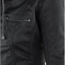 Load image into Gallery viewer, Autumn / Winter Soft Leather Jacket