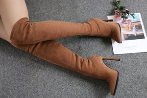 Winter Over The Knee Women Boots