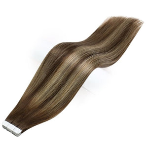 Tape In Human Hair Extensions Balayage