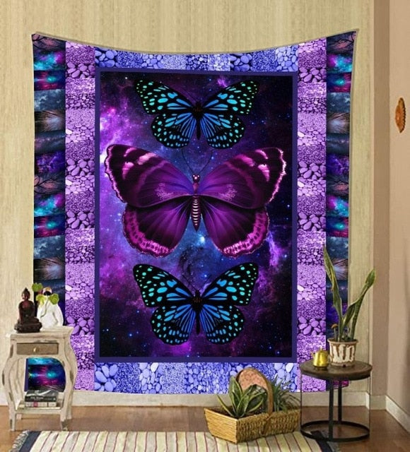 Tapestry Wall Hanging fabric background wall covering home decoration wall blanket tapestry bedroom wall hanging 95*73cm
