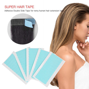 Fashion 60 Tabs Replacement Tape For  Hair 4cm*0.8cm Super Adhesives