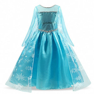 Girls Princess Dress Halloween Costume Birthday Party Clothing for Children Kids Robe Fille Girls Fancy Dress