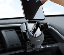 Load image into Gallery viewer, Qi Automatic Clamping 10W Wireless Charger Car Phone Holder Smart Infrared Sensor Air Vent Mount Mobile Phone Stand Hold