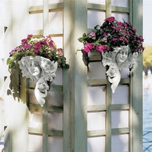 Load image into Gallery viewer, Statue Flower Pot Art-style Wall Sculptures  Head Planter Pot For Home and Garden Decor