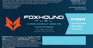 Foxhound Hydrate - Sample Packs