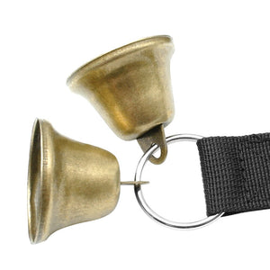 Dog training bell for doors